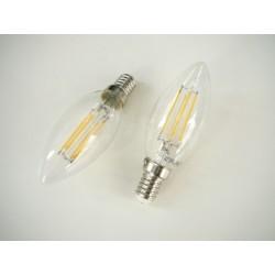 LED žárovka E14 4W retro