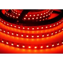 100cm LED pásek 9.6W, 120 LED, Červná, zalitý