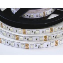 50cm LED pásek 14.4W, 60 LED, RGB, nezalitý