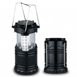 LED lucerna 3xAA 30xLED černá