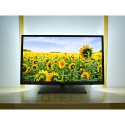 LED osvětlení televizoru jednobarevné s dálkovým ovladačem