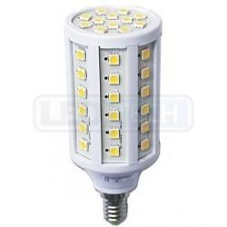 LED žárovka 9W, E14, oválná, teplá bílá