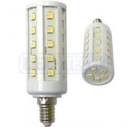 LED žárovka 6.5W, E14, oválná, teplá bílá