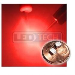 LED smd dioda 3528 PLCC-2 červená - 150mcd / 120°