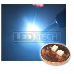 LED smd dioda 3528 PLCC-2 studená bílá - 1300mcd / 120°