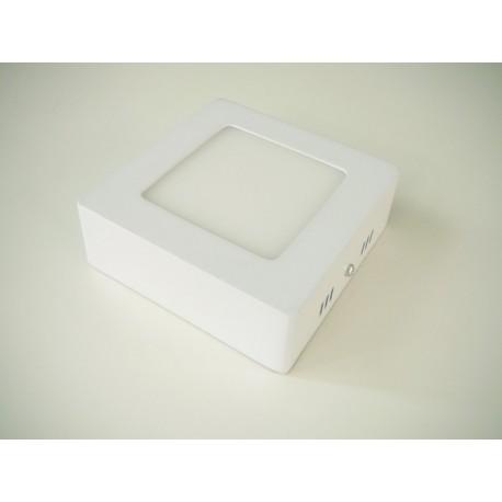 LED panel 6W přisazený čtverec 115x115mm