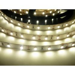 LED pásek 12W, 60 LED, CRI 92, nezalitý - Denní bílá