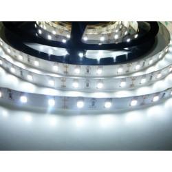 LED pásek 12W, 60 LED, CRI 93, nezalitý  - Studená bílá