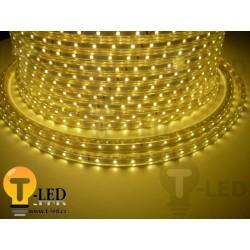 LED pásek 230V, 3.5W, 60 LED, IP67, Teplá bílá