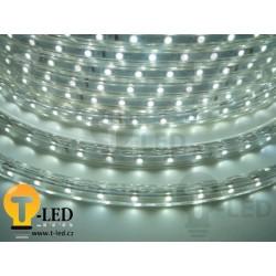 LED pásek 230V, 3.5W, 60 LED, IP67, Studená bílá