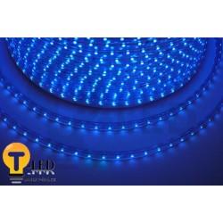 LED pásek 230V, 3.5W, 60 LED, IP67, Modrá