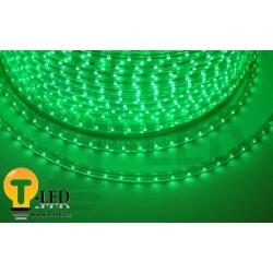 LED pásek 230V, 3.5W, 60 LED, IP67, Zelená