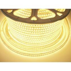 LED pásek 230V, 7W, 120 LED, IP67, Teplá bílá