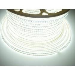 LED pásek 230V, 7W, 120 LED, IP67, Studená bílá