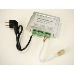 Zesilovač pro RGB LED pásky 230V