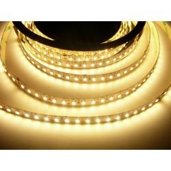 LED pásek 20W, 120 LED, 24V, Teplá bílá, nezalitý