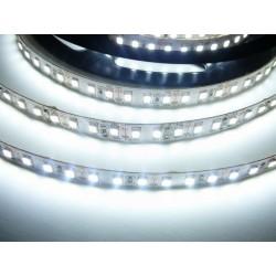 LED pásek 20W, 120 LED, 24V, Studená bílá, nezalitý