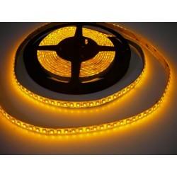 125cm LED pásek 9.6W, 120 LED, Žlutá, nezalitý