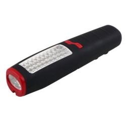 Montážní lampa 30+7LED s magnetem a háčkem 3xAA
