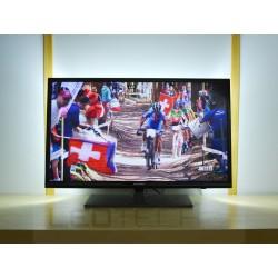 Velké LED osvětlení televizoru jednobarevné s dálkovým ovladačem