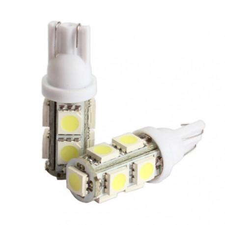 LED žárovka T10 W5W 9x 3SMD bílá