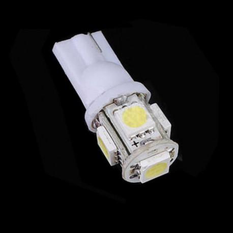 LED žárovka T10 W5W 5x 3SMD bílá