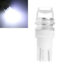 LED žárovka s čočkou T10 W5W 0.5W bílá