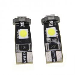 LED žárovka T10 W5W 3x 3SMD bílá