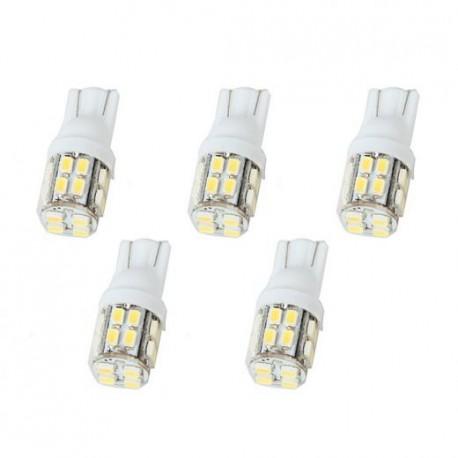 LED žárovka T10 W5W 20x SMD bílá