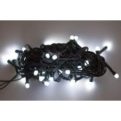 Vánoční LED řetěz - osvětlení - Bílé - 50 LED 5 metrů