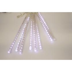 LED rampouchy - padající vločka - bílé s adapterem