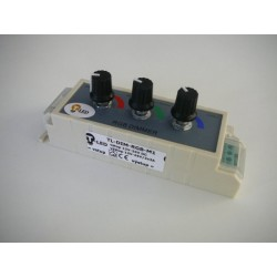 LED ovladač RGB manuální