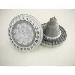 LED žárovka GU10 AR111 45°/100° 12W