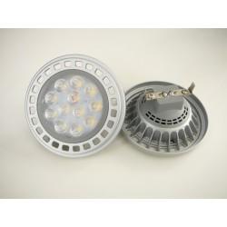 LED žárovka AR111 12V 45°/100° 12W