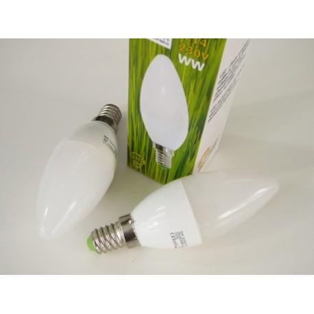 LED žárovka E14 5W svíčka