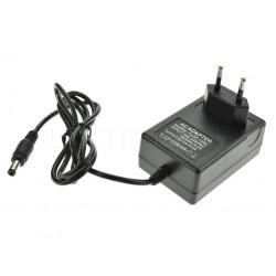 LED zdroj 12V 24W zásuvkový černý