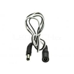 Prodlužovací napájecí DC kabel s konektory 1m