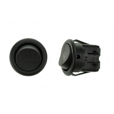 Vypínač kolébkový 250V/3A černý