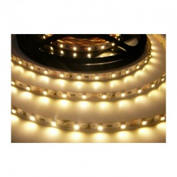 LED pásek 4.8W, 60 LED, Nezalitý IP 20 economy - Teplá bílá