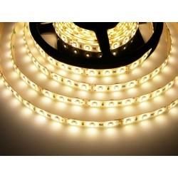 LED pásek 4.8W, 60 LED, zalitý IP 50 economy - Teplá bílá