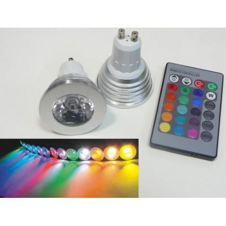 LED žárovka RGB16-2 GU10 - 60°