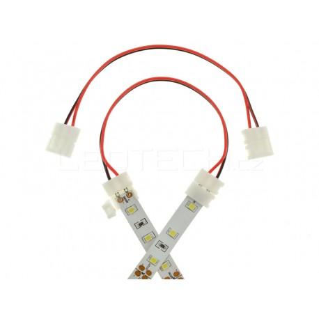 Click spojka s kabelem pro jednobarevný pásek 8mm