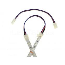 Click spojka s kabelem pro RGB pásek 10mm