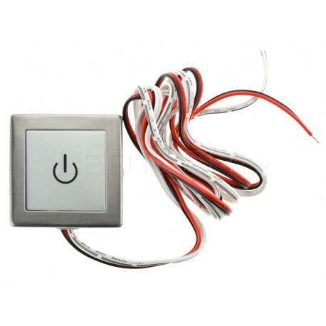 Nástěnný dotykový LED ovladač NDS1 pro jednobarevné LED pásky