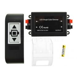 Dálkový LED ovladač RF10 pro jednobarevné LED pásky