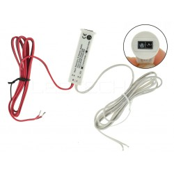 Bezdotykový skříňový a mávnutím LED spínač 2v1 pro jednobarevné LED pásky