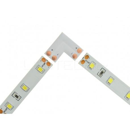Spojka L pro jednobarevné pásky 10mm pájecí