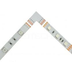 Spojka L pro RGB pásky 10mm pájecí