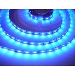 LED pásek 12W, 60 LED, Nezalitý IP 20 - Modrá