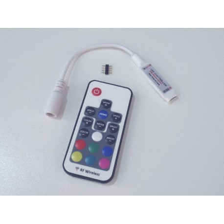 LED ovladač RF RGB 17B